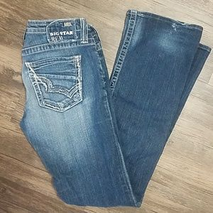 Big Star sweet boot low rise jeans 30L